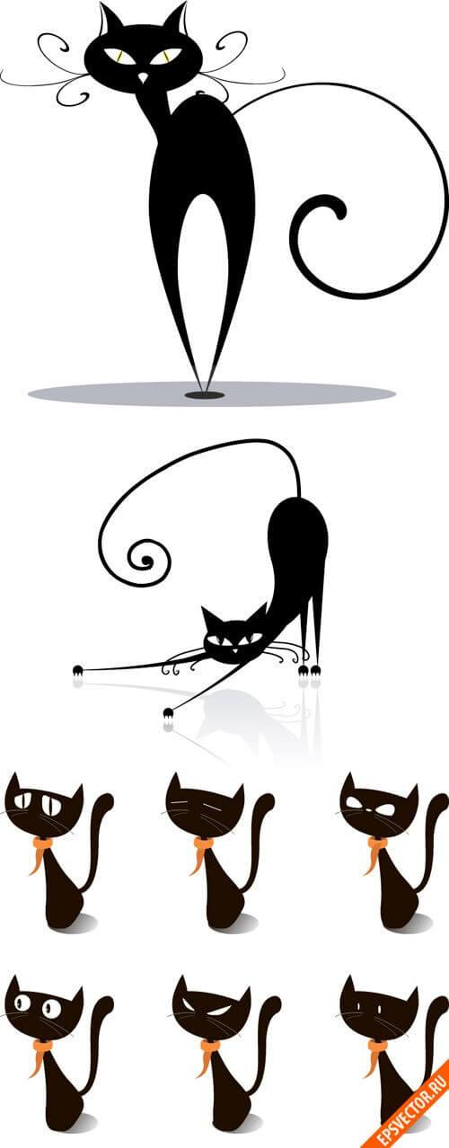 Клипарт животные в векторе