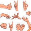 Руки в векторе