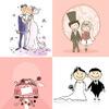Свадьба в векторе
