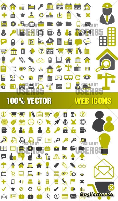 Векторные web иконки