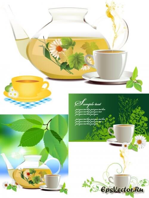 Чай в векторе
