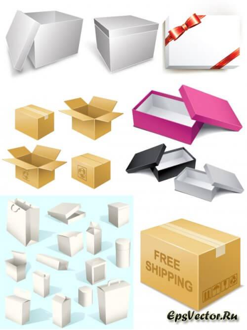 Векторная коробка