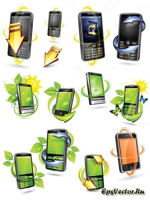 Иконки телефон