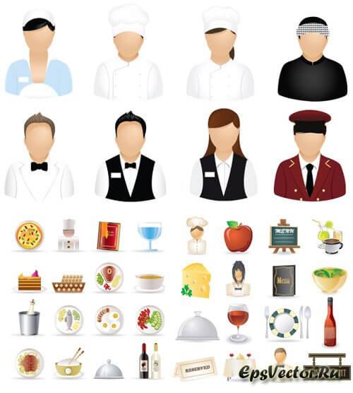 Иконки ресторан