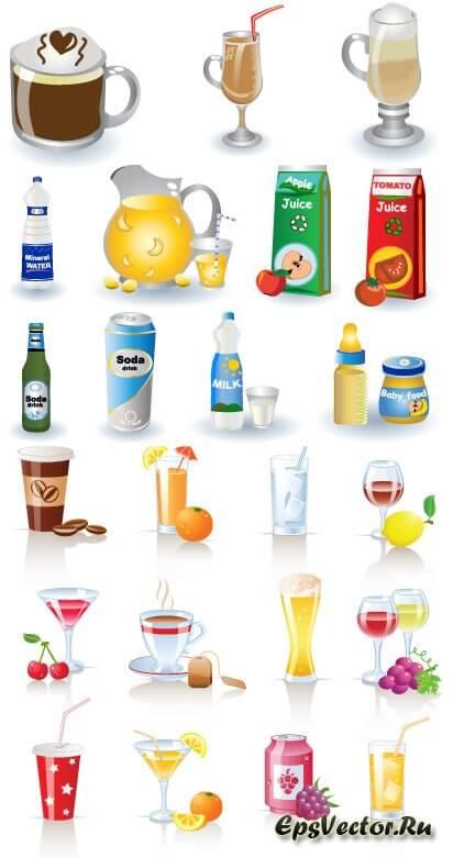 Векторные напитки