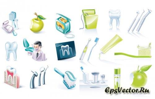 Стоматологические иконки