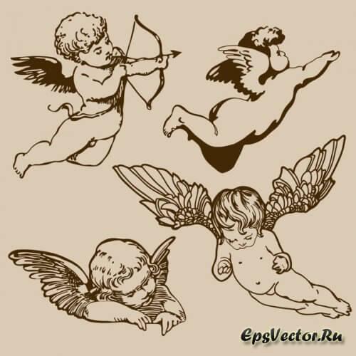 Ангелы в векторе