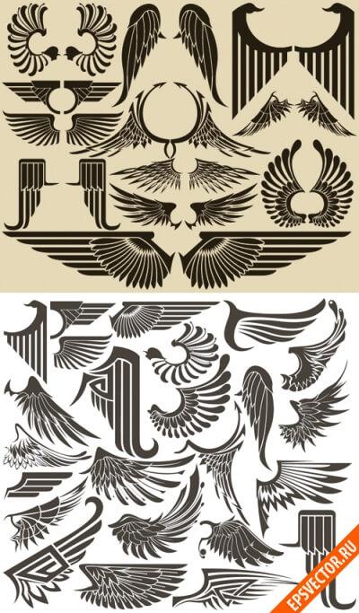 Крылья в векторе