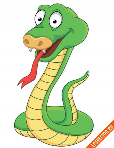 Змеи в векторе