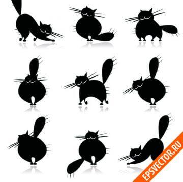 Векторные коты