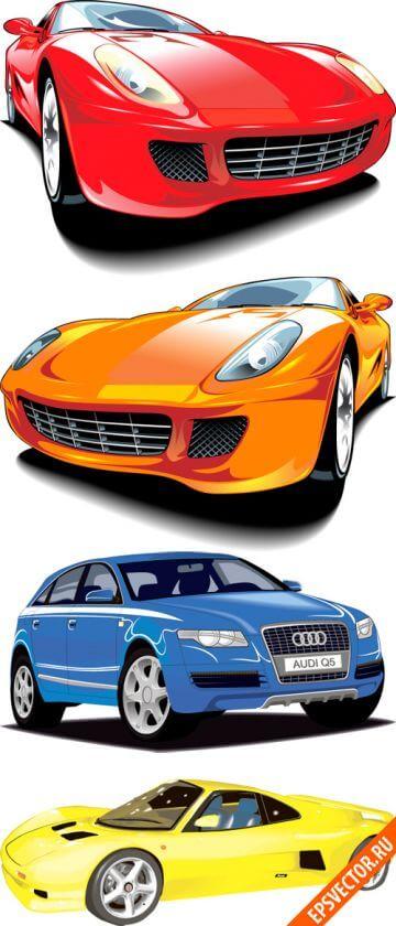 Векторные автомобили
