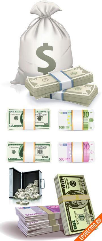 Деньги в векторе