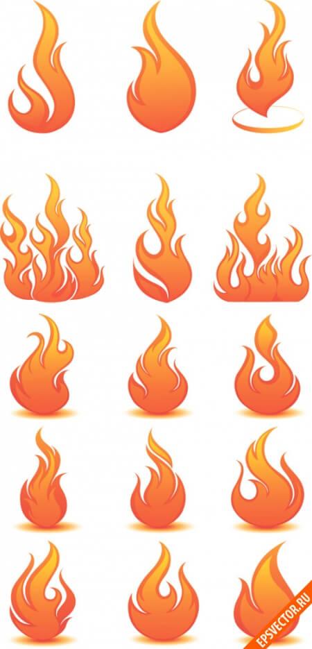 Огонь в векторе
