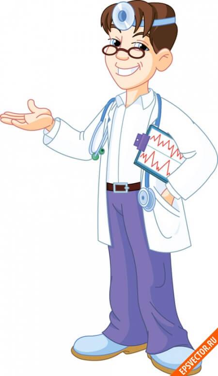 Доктор в векторе