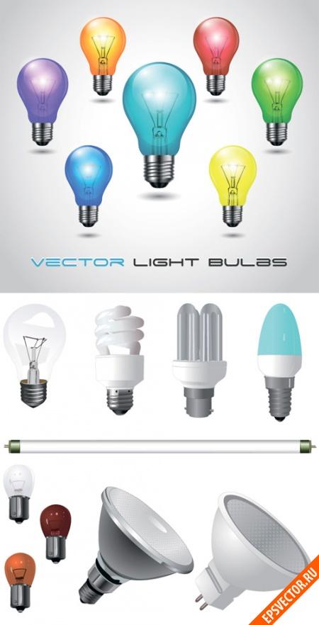 Лампочки в векторе