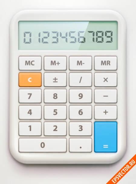 Калькулятор в векторе