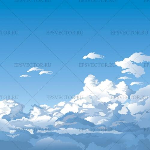 Небо в векторе
