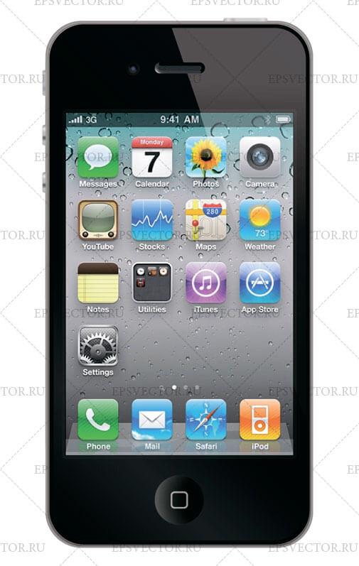 Клипарт iphone