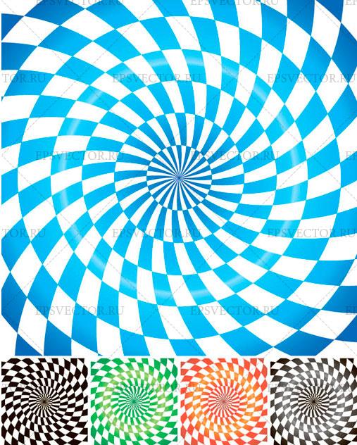 Спиральные фоны